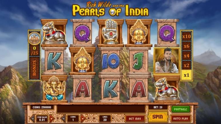 Pearls of India Online Casino Slot game